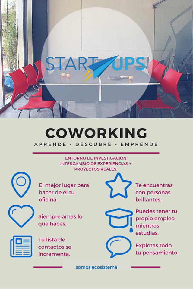 #CoworkingStartUPS